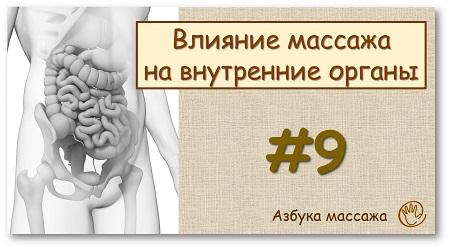 Влияние массажа на внутренние органы